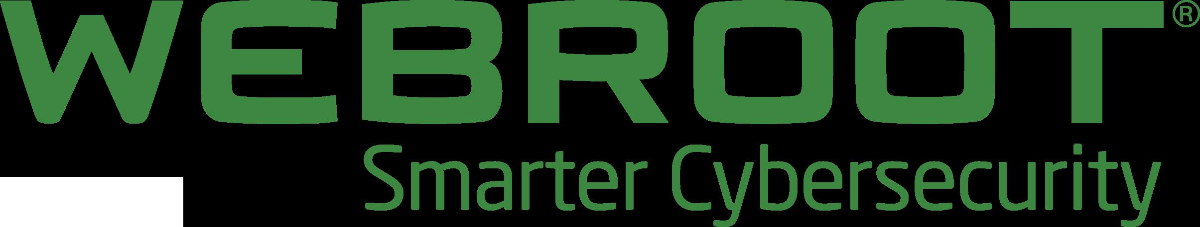 Webroot Smarter Cybersecurity logo green